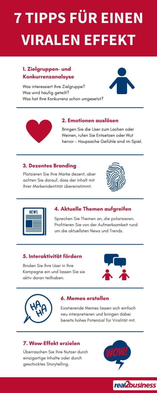 7 Tipps für virale Effekte