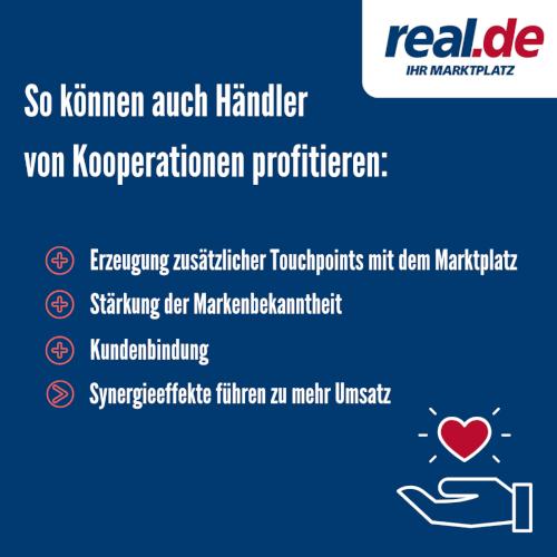 B2B Kooperationen real.de
