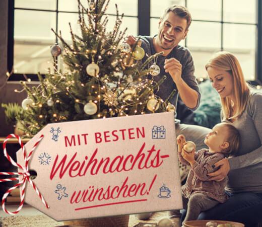 real wünscht frohe Weihnachten