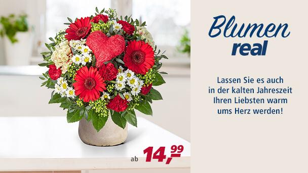 real Blumen