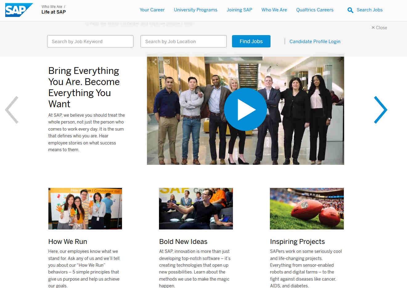 SAP Unternehmenskultur