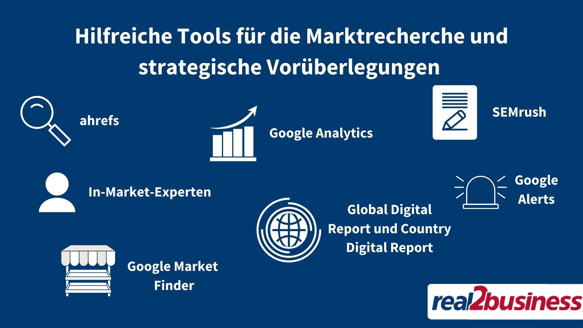 Hilfreiche Tools für Marktrecherche