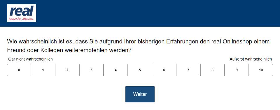 NPS Umfrage